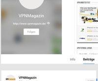 VPN Magazin auf Google+