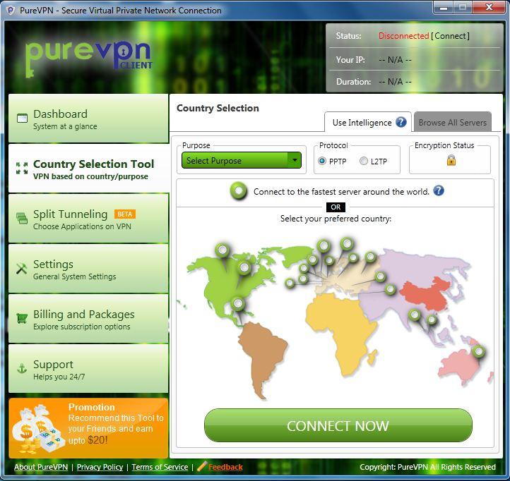 PureVPN Dialer