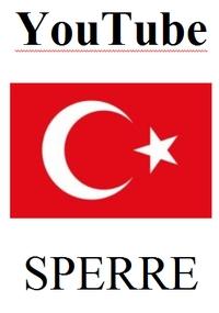 YouTube-Sperre Türkei