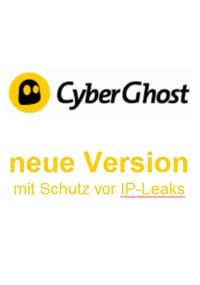 CyberGhost VPN - Schutz vor IP-Leaks