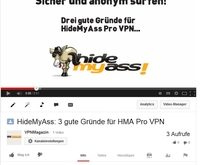 Video HideMyAss HMA Pro VPN