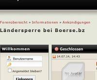 boerse.bz Sperre mit VPN umgehen