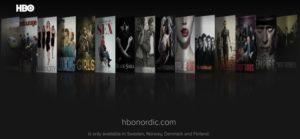 HBO Nordic VPN