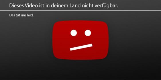 youtube fehlermeldung